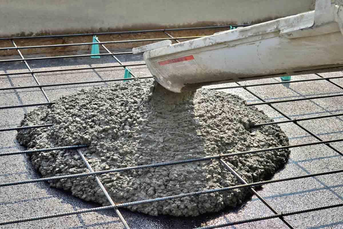 Заказать бетон товарный цементный раствор для подушек
